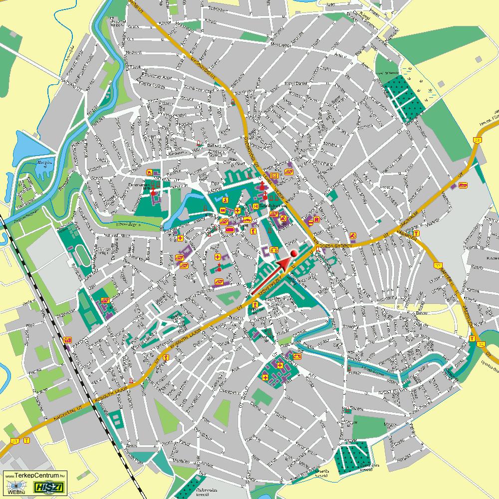 jászberény térkép Dr. Szabó András   bőrgyógyász, kozmetológus szakorvos jászberény térkép